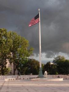 Flag & storm